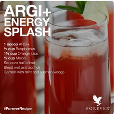 Thank you to our Scandanavian friends for this great ARGI+ recipe, for optimum…