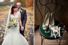 On their wedding day Photo by Saleina Marie photography  Florals by studio G occasions  Red Barn Studios, Chehalis, WA