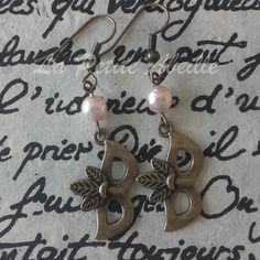 Boucles d'oreilles en bronze vieilli