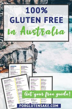 Traveling to Australia as a celiac and need to stay gluten free? I have the gluten-free travel guide for you! Full of all the 100 percent gluten free places in Australia, you will not want to miss this resource. How to go gluten free on the road doesn't have to be complicated. Head to forglutensake.com for help navigating gluten free road trips, stay celiac safe, happy, and healthy!#celiactravel#glutenfreetravel#celiac #glutenfree Gluten Free Recipes Australia, Gluten Free Restaurants, Gluten Free Menu, Gluten Free Living, Celiac, London, Free Travel, Foodie Travel, Australia Travel