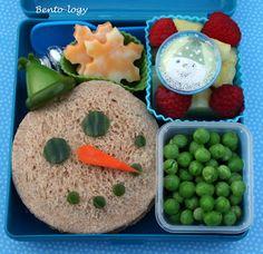 Snowman Christmas Bento Lunch