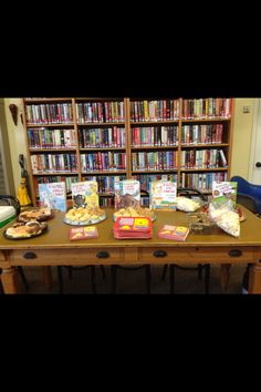 Kid's Brunch at the Ione Branch. July 21, 2014