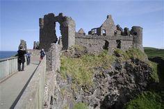 Dunluce Castle: Medieval Irish Castle on the Antrim Coast