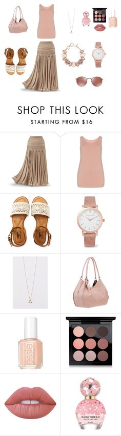 """Untitled #7"" by missmissymermaid on Polyvore featuring Aéropostale, ShoeDazzle, Larsson & Jennings, Essie, MAC Cosmetics, Lime Crime and Marc Jacobs"