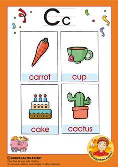Preschool and Kindergarten Alphabet & Letters Worksheets Printable Alphabet Letters, Alphabet Phonics, Letter Worksheets, Letter P Activities, Preschool Activities, Alphabet Pictures, Letters For Kids, Letter Of The Week, Word Free