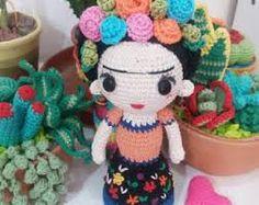 Frida Amigurumi Patron : Pin de alejandra xochiteotzin en frida kahlo frida