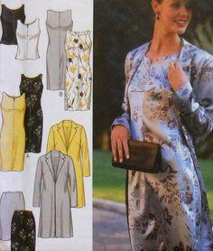 Dressy Wardrobe Sewing Pattern UNCUT Style 2984 by latenightcoffee