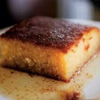 Samali is a semolina based traditional Greek dessert. It has a rich flavour of mastic and it is perfect when served with ice cream especially vanilla or kaimaki, a mastic flavored ice cream Easy to… Greek Sweets, Greek Desserts, Greek Recipes, Desert Recipes, Vegan Desserts, Sweets Recipes, Cake Recipes, Cooking Recipes, Greek Cake