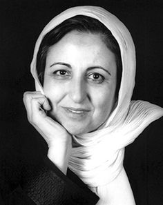 Shirin Ebadi  b. 1947  For her efforts to promote democracy and human rights, especially those of women and children in Iran, Shirin Ebadi received the Nobel Prize for Peace in 2003.  She was the first Muslim woman and the first Iranian to receive the award.