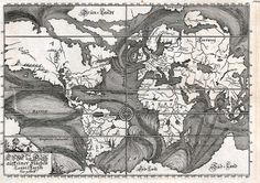 After the last few weeks, this wonderful image from the British Library shows how we understood ocean currents in 1685: Credit: Beautiful Science/British Library Early Ocean Currents (Die Ebbe und Fluth auff einer Flachen Landt-Karten fürgestelt, by Eberhard ...