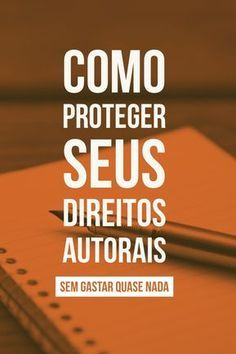 Quer proteger seus direitos autorais para evitar plágio e pirataria? A Avctoris emite um certificado válido por menos de 30 reais. #direito #direitosautorais #marketingdigital #dicas #pirataria #projetos #ideias #ideiascriativas Writer Tips, Writing Challenge, Improve Writing, Writing Process, Study Motivation, Study Tips, Writing Inspiration, Blog Tips, Writing A Book