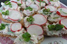 Jak udělat pomazánku z ředkviček nebo ředkve Caprese Salad, Camembert Cheese, Fit, Shape, Insalata Caprese