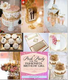Host a Glamorous Party for a Birthday Girl with a FashionistaTheme