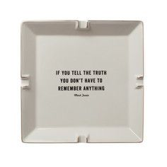 If you tell the truth, you don't have to remember anything !!! Twain Catchall, $45, now featured on Fab.