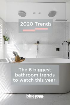 From first choice products and popular materials to changes in how Australian bathrooms are being designed, this year is shaping up to be a trend-setter. Bathroom Trends, Bathroom Inspo, Bathroom Inspiration, Master Bathroom, Bathroom Ideas, Coastal Bathrooms, Big Bathrooms, Bathroom Makeovers, Bathroom Renovations