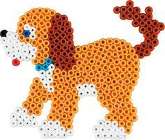 Hama - 3433 - Loisirs Créatifs - Boîte Perles à Repasser - Taille Midi - Le Chien Et Les Chats