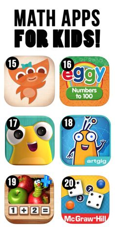 Many great examples of teaching math using technology. Students can use multiple devices to access these apps as well.
