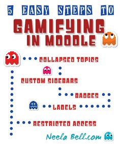 "Want to create a more ""gamified"" learning environment in your Moodle course? These 5 tips will get you started gamifying your course. Online Classroom, Future Classroom, Technology Integration, Interactive Activities, Blended Learning, Student Motivation, Learning Environments, Teaching Tips, Educational Technology"