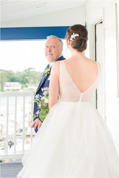 dad sees bride for the first time on NJ wedding day   Summertime Crystal Point Yacht Club photographed by Idalia Photography Associate Team, NJ wedding photographers. Planning an elegant summer wedding? Find inspiration here! #IdaliaPhotography #CrystalPointYachtClub #SummerWedding Summer Wedding, Wedding Day, Nj Wedding Venues, Wedding Morning, Church Ceremony, Yacht Club, Bridesmaid Dresses, Wedding Dresses, Wedding Gallery
