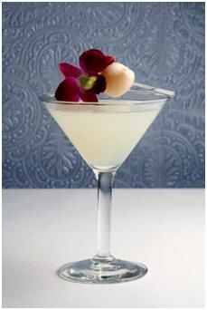 my new favorite cocktail... lychee martini