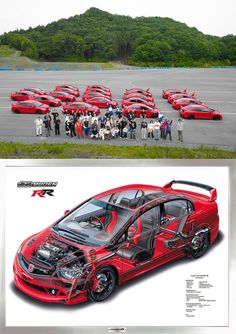 The beautiful and extremely limited production Mugen RR