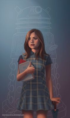The Impossible Girl. Clara Oswin Oswald by strannaya-anna.deviantart.com on @deviantART