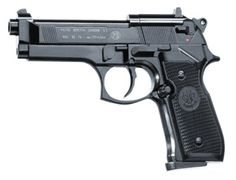 The Umarex Beretta 92F Black with plastic grip is a CO2 powered air pistol ideal for target shooting.    There is a good reason for special task forces, armies and also police throughout the world to trust in the legendary Beretta M 92 FS pistol.