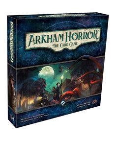 Something evil stirs in Arkham, and only you can stop it. Blurring the traditional lines between roleplaying and card game experiences, Arkham Horror - The Card Game is the living card game of Lovecraftian mystery, monsters, and madness . Set Card Game, Card Games, Games Stop, Games To Play, Custom Deck Of Cards, The Ancient One, Lovecraftian Horror, Eldritch Horror, Dinosaur Cards