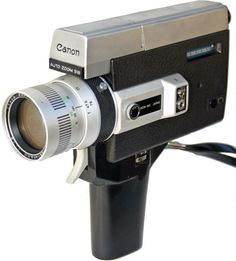 Super 8mm camera, the beginning of home video?