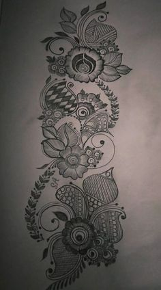 Tattoo designs drawings sketches hand drawn Trendy ideas Tattoo designs drawings sketches hand d Peacock Mehndi Designs, Mehndi Designs Book, Arabic Henna Designs, Mehndi Designs 2018, Wedding Mehndi Designs, Mehndi Design Pictures, Mehndi Designs For Hands, Henna Drawings, Tattoo Design Drawings