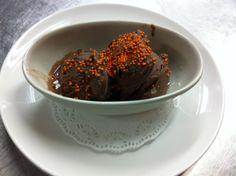 Helado de Chocolate de la Arrocería.