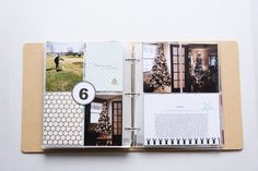 2015 December Daily® | A 6x8 Pocket Page Holiday pocket page scrapbook by Turquoise Avenue