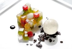 Jello is making a come back. Massimo Bottura, Osteria Francescana, Delood
