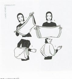 Fashion Preserve: How to Wear a Vintage Shawl, courtesy of Hermes