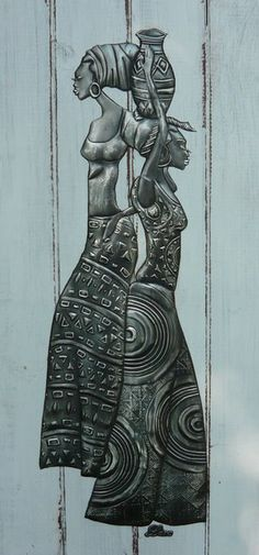 African Art gallery for African Culture artwork, abstract art, contemporary art daily, fine art, paintings for sale and modern art Tin Foil Art, Aluminum Foil Art, Pewter Art, Pewter Metal, Metal Embossing, Contemporary Art Daily, Art Africain, Africa Art, Recycling