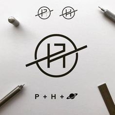 Planet hash mark Planet hash mark by made.by.james | logo inspiration -