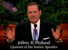 "VIDEO : Jeffrey R Holland's powerful witness of the veracity of The Book of Mormon.  ""Safety for the Soul""   Holland is one of the twelve apostles of  The Church of JESUS CHRIST of Latter-Day Saints    October 2009 General Conference  #LDS #Mormon #bookofmormon"