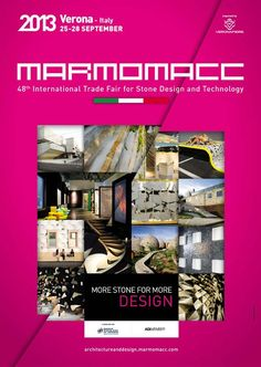 PINK 2013 | Client MARMOMACC 2013 | Group VERONAFIERE