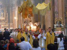 Corpus Christi Procession at Santissima Trinità dei Pellegrini