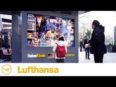 Lufthansa Billboard: Wie Kolle Rebbe mit einem digitalen Reisekiosk Fernweh weckt