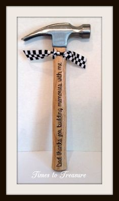 Personalized Hammer Fathers Day Gift Gift for by timestotreasure I really like it!!!! I might give it to my dad for Christmas