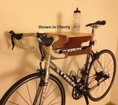 Seven really cool Father's Day gift ideas (including this cherry-wood bike rack) from Etsy, selected by the editors of TheSnug.com