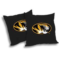 NCAA Missouri Tigers Pillow Set, 2pk