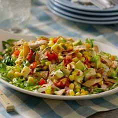 Avocado-Corn Salad with Creamy Salsa Dressing Allrecipes.com
