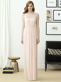 The perfect pink blush -  Dessy Collection Style 2963.