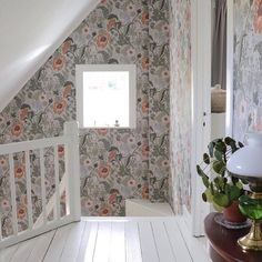 Interior Wallpaper, Granny Chic, Wall Colors, Home Organization, Home Interior Design, Room Inspiration, My House, Beautiful Homes, Sweet Home