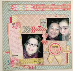 Here is a new layout using My Mind's Eye Find Your Wings and Fly. I created this layout for the Scrapbook Generation NSD manufacturer challenge.