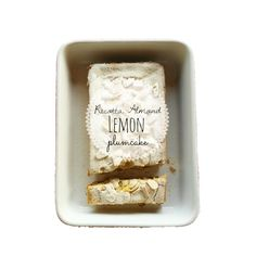 plumcake ricotta mandorle e limone