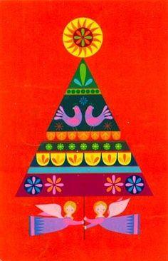 70s Christmas tree