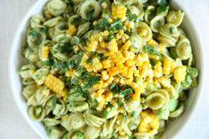 Expand your pesto pasta-bilities with avocado and sweet corn. Get the recipe: Avocado-Pesto Pasta Salad with Fresh Corn